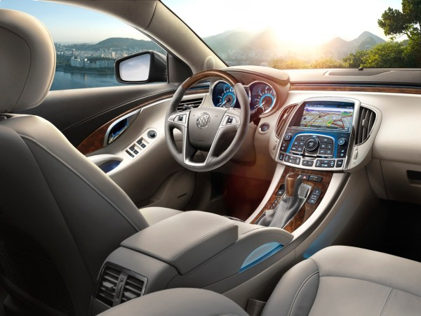 2013 Buick LaCrosse Interior